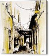 Rhodos City Acrylic Print