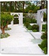 Rhs Chelsea Beauty Of Islam Garden Acrylic Print