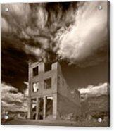 Rhyolite Nevada Ghost Town Acrylic Print