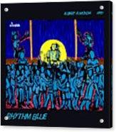 Rhythm Blue Acrylic Print