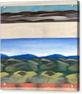 Rhythm In Landscape Acrylic Print