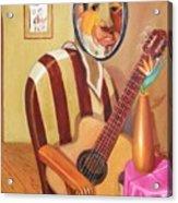 Rhythmic Echoes Acrylic Print