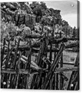 Rial Chew Ranch 3 Acrylic Print