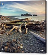 Rialto Beach Washington Acrylic Print