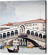 Rialto Bridge Acrylic Print