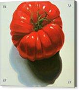 Ribbed Heirloom Tomato Acrylic Print