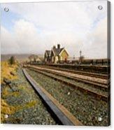 Ribblehead Station Acrylic Print