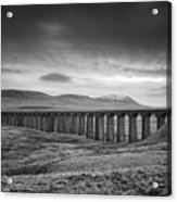 Ribblehead Viaduct Uk Acrylic Print