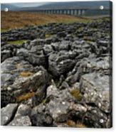Ribblehead Viaduct, Yorkshire, England Acrylic Print