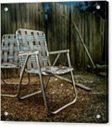 Ribbon Chairs Acrylic Print