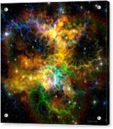 Ribbon Nebula Acrylic Print