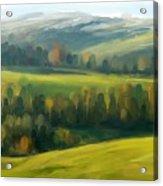 Rich Landscape Acrylic Print
