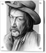 Richard Boone 3 Acrylic Print