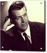 Richard Egan, Vintage Actor Acrylic Print