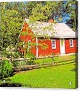 Richard Hunnewell House, Scarborough Maine Acrylic Print
