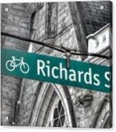 Richards Street Acrylic Print
