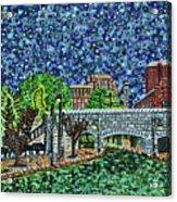 Richmond Canal Walk Acrylic Print