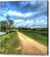 Richmond-lynchburg Stage Road, Appomattox, Virginia Acrylic Print