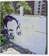 Richmond Mural Project Dface Acrylic Print