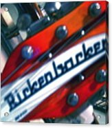 Rickenbocker Acrylic Print