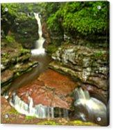 Ricketts Glen Adams Falls Acrylic Print