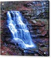 Ricketts Glen Waterfall 3941  Acrylic Print