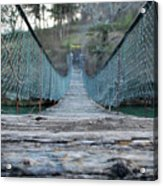 Rickety Bridge Acrylic Print