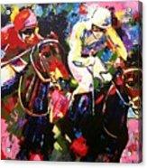 Ride To Glory Acrylic Print