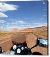 Ride To Little Wild Horse Slot Canyon Acrylic Print