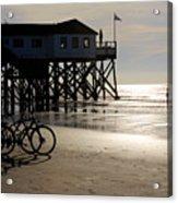 Ride Your Bike To The Beach Acrylic Print