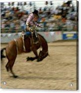 Ridem Cowboy Acrylic Print