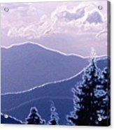 Ridge Layers 2 Pd2  Acrylic Print