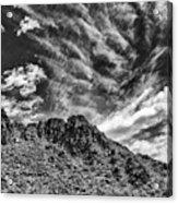 Ridge Route Acrylic Print