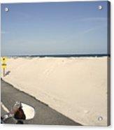 Riding Along Pensacola Beach Acrylic Print