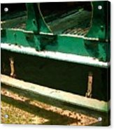 Riding The Rails Acrylic Print