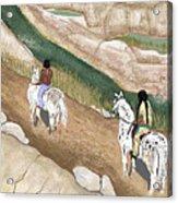 Riding The Ridge Acrylic Print