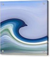 Riding The Waves Acrylic Print