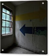 Right Direction, Wrong Time Acrylic Print