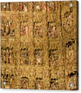 Right Half - The Golden Retablo Mayor - Cathedral Of Seville - Seville Spain Acrylic Print
