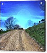 Right Path Acrylic Print