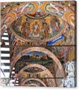 Rila Monastery In Bulgaria Acrylic Print