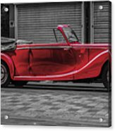 Riley Rmd 1950 Drophead Coupe Acrylic Print