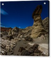 Rim Rock Toadstools Grand Staircase National Monument  Acrylic Print