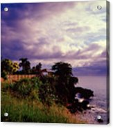 Rincon Lighthouse Puerto Rico Acrylic Print by George Oze