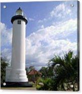Rincon Puerto Rico Lighthouse Acrylic Print by Adam Johnson