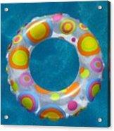 Ring In Pool Acrylic Print