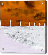 Ring Of Brodgar, Orkney Acrylic Print