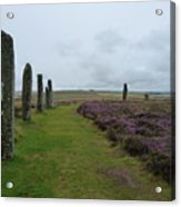 Ring Of Brodgar Acrylic Print