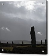 Ring Of Brodgar Orkney Scotland  Acrylic Print