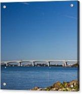 Ringling Bridge, Sarasota, Fl Acrylic Print